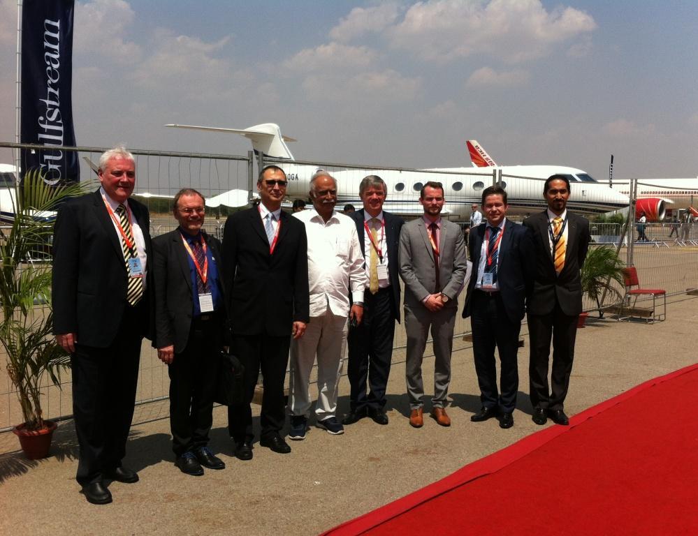 Účast Hypery na India Aviation International Exhibition & Conference on Civil Aviation