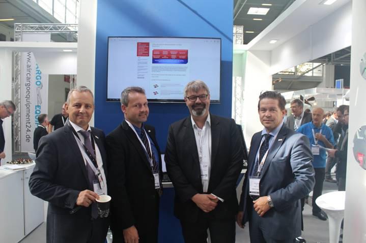 Účast týmu Hypera Aviation Solutions na výstavě Inter Airport Europe 2015